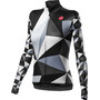 Castelli Triangolo Mid Full-Zip Langarm Trikot Damen black/white