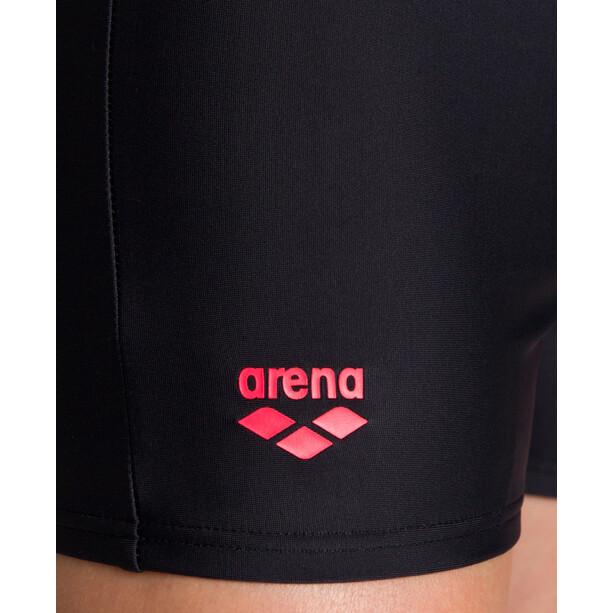 arena Spotlight Shorts Jungen black/fluo red