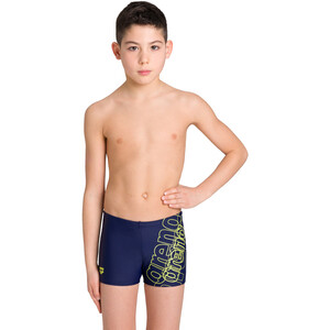 arena Spotlight Shorts Jungen navy/soft green navy/soft green