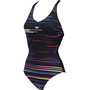 arena Anita Cradle Back One Piece Badeanzug Damen black multi/black