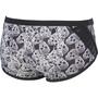 arena Crazy Pop Skulls Low Waist Shorts Herren black/multi