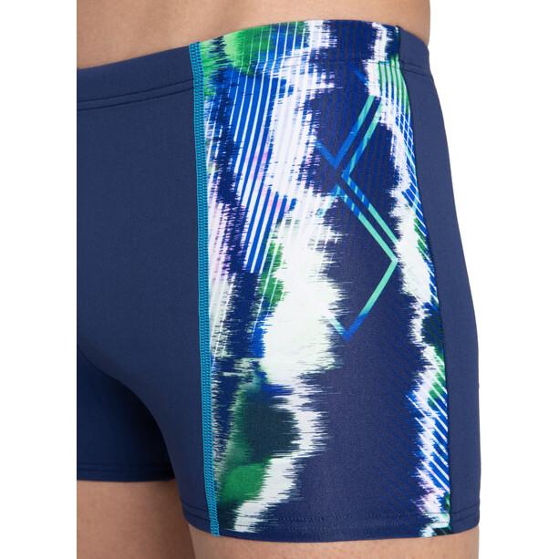 arena Infinite Stripe Shorts Herren blau