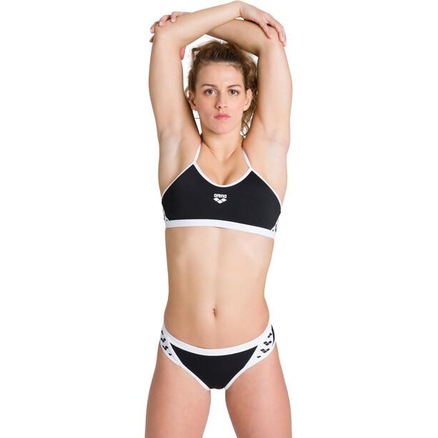arena Team Stripe Bikinit Naiset, musta/valkoinen