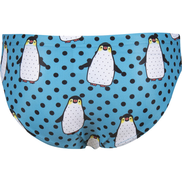 arena Crazy Penguins Badehose Jungen blau