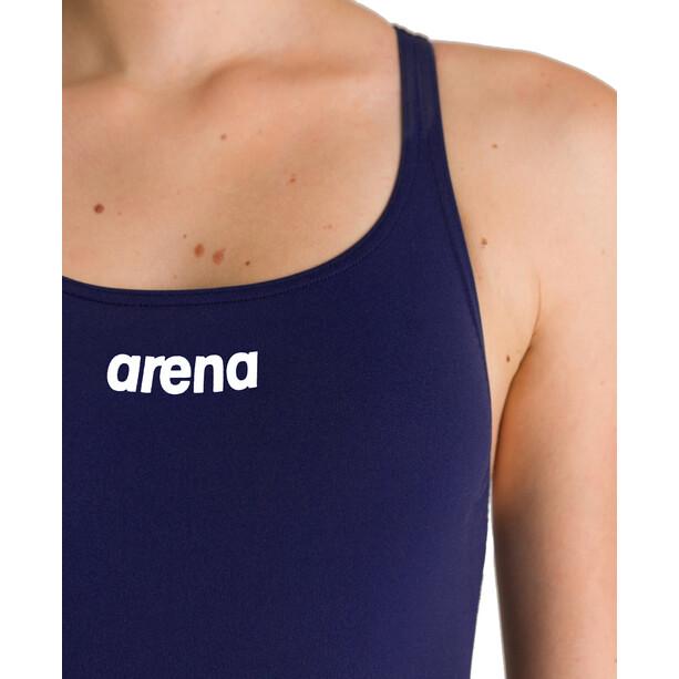 arena Solid Swim Pro One Piece Badeanzug Damen navy/white