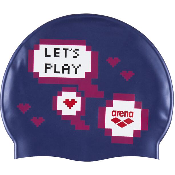 arena Print Schwimmkappe Kinder let's play