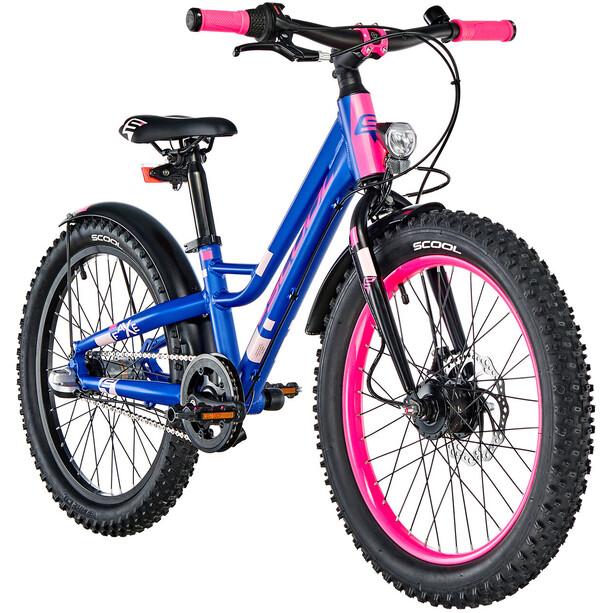 s'cool faXe 20 3-S 2. Wahl Kids blue/pink matt