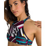 arena Think Crop Top Damen freak rose/multi