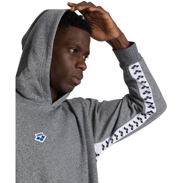 arena Team Hoodie dark grey melange/white/black