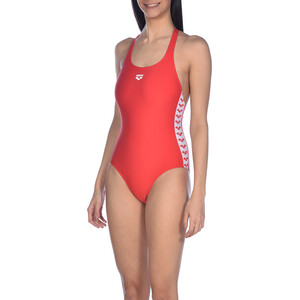 arena Team Fit Racer Back One Piece Badeanzug Damen red red