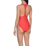 arena Team Fit Racer Back One Piece Swimsuit Women, punainen