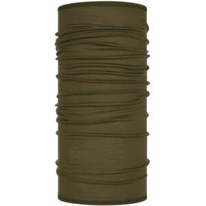 Buff Lightweight Merino Wool Scaldacollo tubolare, verde verde