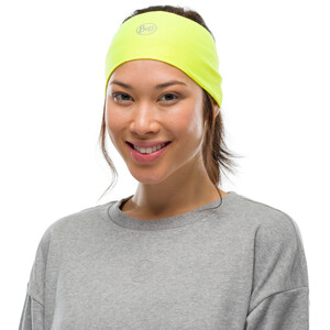 Buff Coolnet UV+ Stirnband solid yellow fluor solid yellow fluor