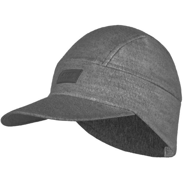 Buff Pack Merino Wool Fleece Cap grey