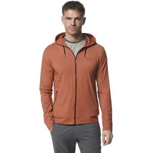 Craghoppers NosiLife Tilpa Hoodie Herren burnt whiskey orange burnt whiskey orange