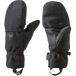 Outdoor Research Gripper Convertible Handschuhe black black