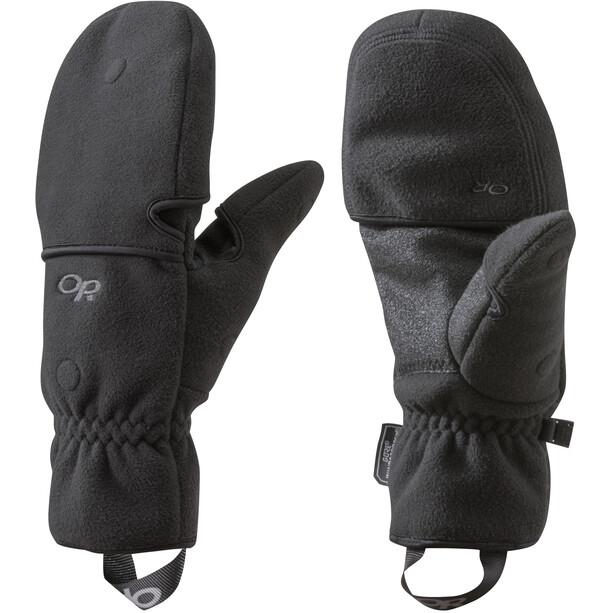 Outdoor Research Gripper Convertible Handschuhe black