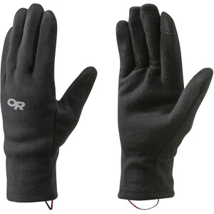 Outdoor Research Woolly Guantes Interiores, negro negro