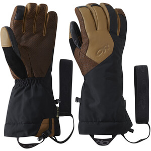 Outdoor Research Super Couloir Sensor Handschuhe Herren black/natural black/natural
