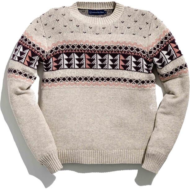 United By Blue Merino Blend Ski Sweater Damen sand dollar