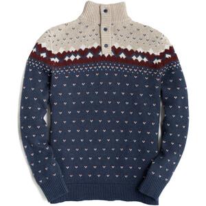 United By Blue Merino Blend Ski Sweater Men faded navy faded navy