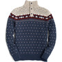 United By Blue Merino Blend Ski Sweater Men faded navy