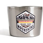 United By Blue Made for the Mountains Compass Cup 295ml stainless steel