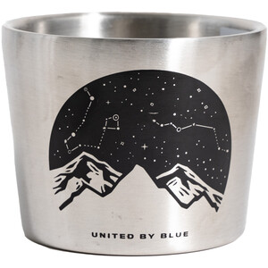 United By Blue Lunar Mountain Compass Cup 295ml stainless steel stainless steel