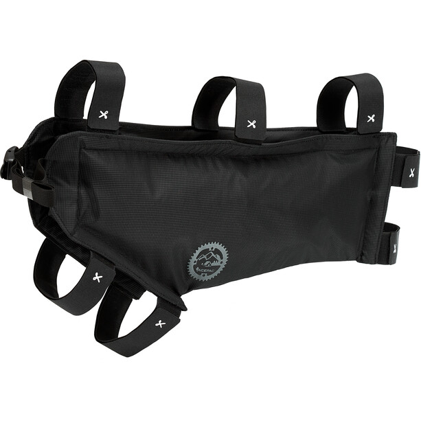 Acepac Zip Sacoche pour cadre de vélo M, noir