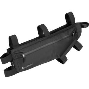Acepac Zip Sacoche pour cadre de vélo L, noir noir