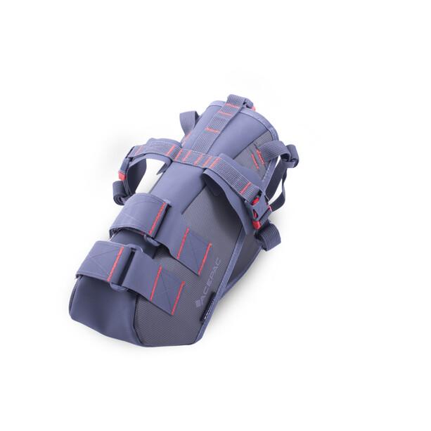 Acepac Satteltaschenharness für Dry Bags grey
