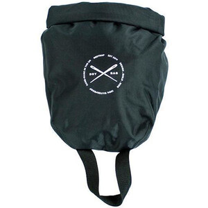 Restrap Dry Bag Roll Top Packsack 4l black black