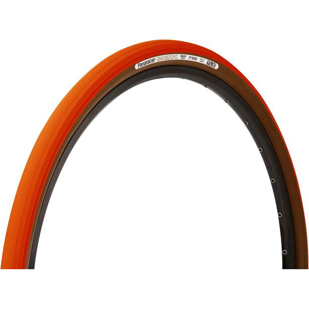 Panaracer GravelKing Slick Faltreifen 700x38C TLC orange/brown