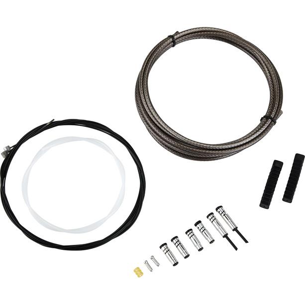 ASHIMA MTB ReAction Bremszug Set mit PTFE Beschichtung black