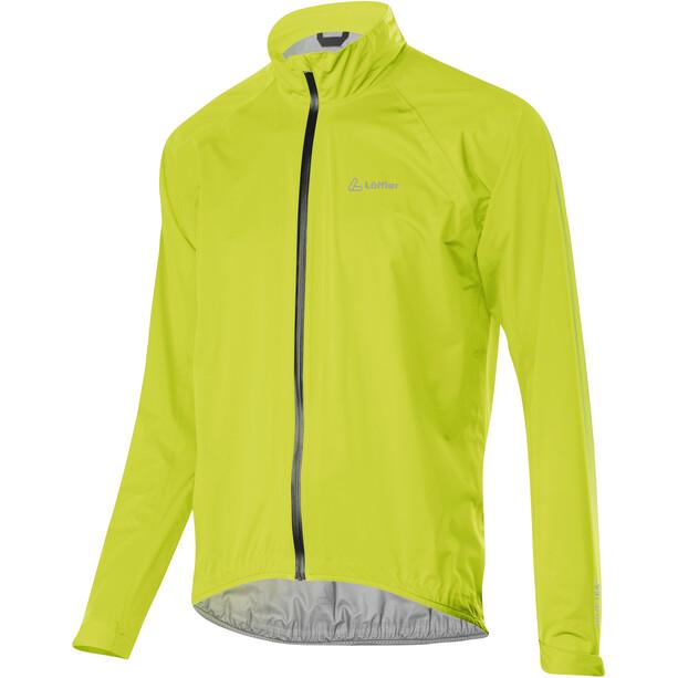 Löffler Prime GTX Active Fahrrad Jacke Herren light green