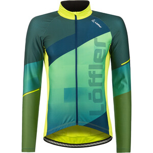 Löffler Speed Langarm Fahrradtrikot Herren light green light green