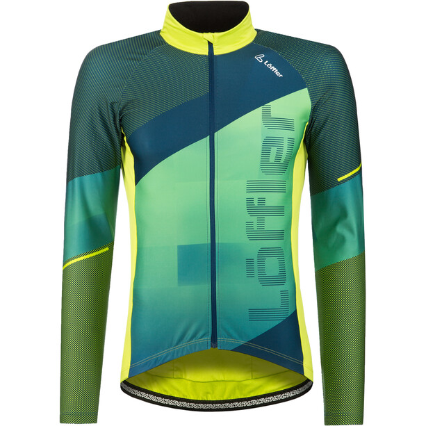 Löffler Speed Langarm Fahrradtrikot Herren light green