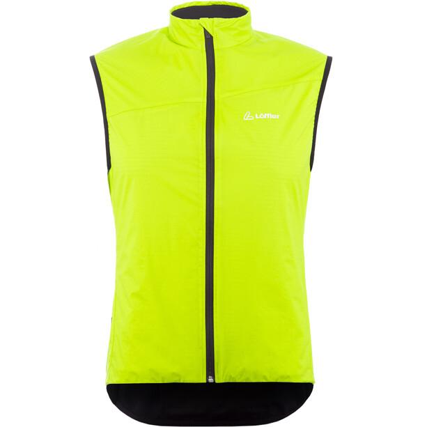 Löffler Pace Primaloft Next Fahrrad Weste Herren light green