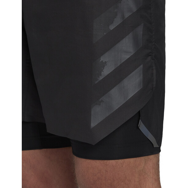adidas TERREX Agravic 2in1 Shorts Herren black