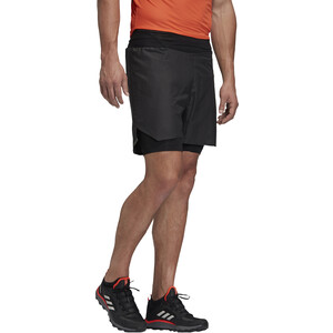 adidas TERREX Agravic 2in1 Shorts Herren black black