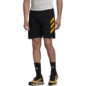 "adidas TERREX Agravic ALLA 5"" Shorts Herren black/gold black/gold"