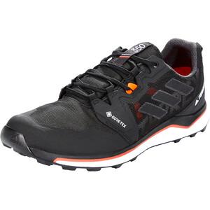 adidas TERREX Agravic GTX Trail-juoksukengät Miehet, musta/punainen musta/punainen
