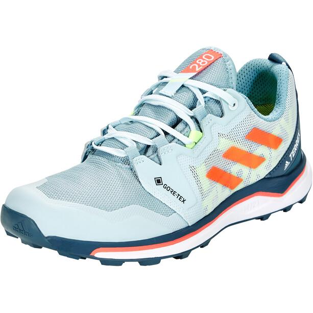 adidas TERREX Agravic GTX Running Shoes Women, ash grey/signal coral/sky tint