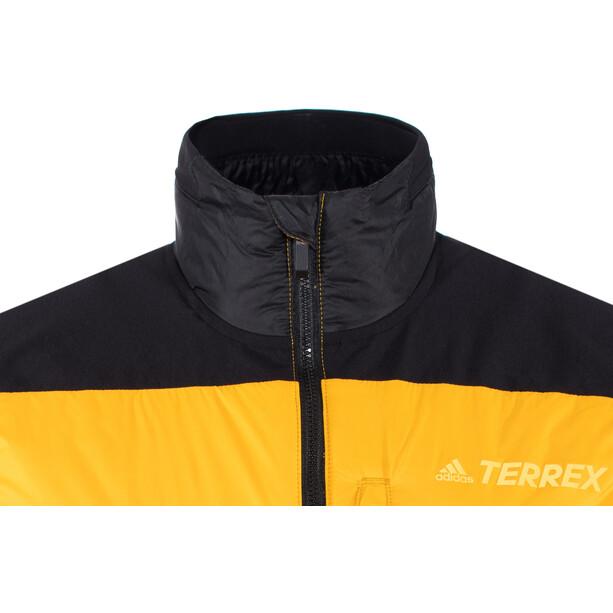 adidas TERREX Skyclimb Weste Herren gelb/schwarz