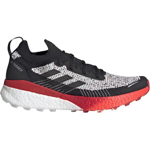 adidas TERREX Two Ultra Parley Laufschuhe Herren crystal white/core black/scarlet crystal white/core black/scarlet