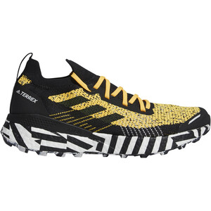 adidas TERREX Two Ultra Parley Running Shoes Men, sogold/core black/footwear white sogold/core black/footwear white