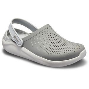 Crocs LiteRide Clogs grau/weiß grau/weiß