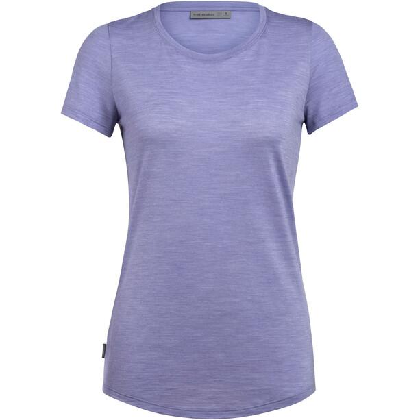 Icebreaker Sphere SS Low Crewe Shirt Women violett