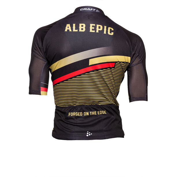 Alb Epic 3.0 Kurzarm Trikot Herren black/red/gold