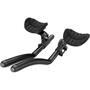 Zipp Vuka Triathlon Clip Carbon Ø31,8mm Low Mount mit Vuka Alumina Evo 110 Extension schwarz